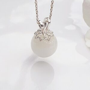 Pandantiv perla cu lapte matern