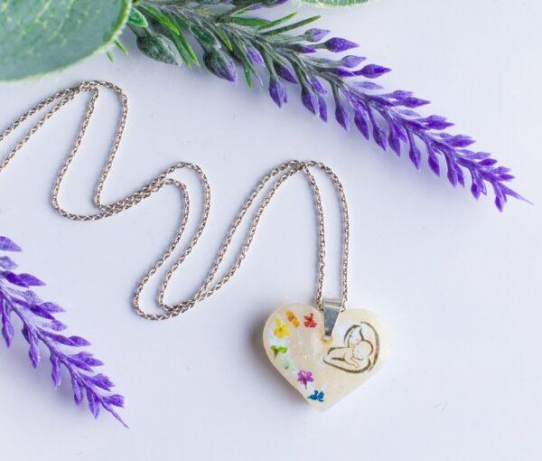 Pandantiv Rainbow baby